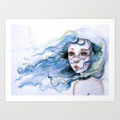Lisabelle Art Print by Juliette Vaissiere - $18.00