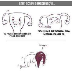 Meu útero tenta fazer seppuku todo mês #menstruação Wtf Funny, Funny Memes, Ver Memes, Best Memes Ever, Comedy Memes, Memes Status, Cool Cartoons, Cartoon Fun, Fujoshi