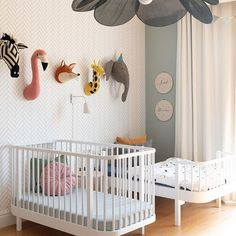 Designing a shared gender neutral room can be daunting, but we never shy away from a challenge. Small Oak Table, Sibling Room, Junior Bed, Ikea Billy Bookcase, Shared Rooms, Childrens Room Decor, Nursery Neutral, Nursery Design, Gender Neutral