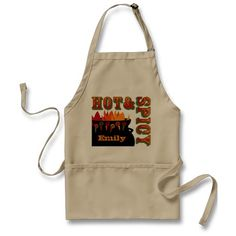 Hot & Spicy Personalized Apron