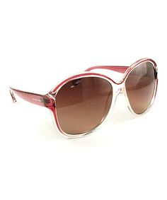 Take a look at this Blush Guadeloupe Sunglasses - Women by Michael Kors on #zulily today!