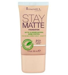 Rimmel Stay Matte Foundation, 5.99 - best foundations for oily skin - make-up - beauty - marie claire