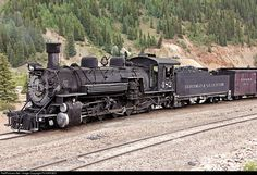RailPictures.Net Photo: 482 Durango & Silverton Narrow Gauge Railroad Steam 2-8-2 at Silverton, Colorado by Pit KARGES