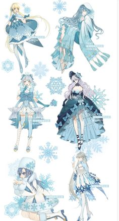 Snow Queen Washi Tape with Matte PET and Release Paper- Japanese Washi Tape -Deco Clothing Sketches, Dress Sketches, Dress Drawing, Drawing Clothes, Manga Clothes, Fashion Design Drawings, Fashion Sketches, Anime Dress, Poses References