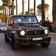 Brabus this is the real Beast 😱 by: by cars Bugatti, Lamborghini, Ferrari, Merc Benz, Living In Car, Suv 4x4, Fast Sports Cars, Riding Quotes, Mercedes G