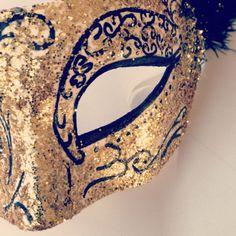 masque loup vénitien adulte - Carnaval Mardi-Gras Les Ateliers de Laurène DIY