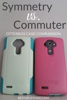 It's hard to decide which case to buy when considering the Otterbox Symmetry vs Commuter Cases. Our comparison review will help! via @AmyBarseghian