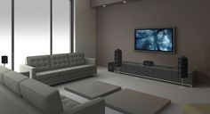 Dolby Atmos turns your room into an amazing place for entertainment with sound that fills every dimension of the room.