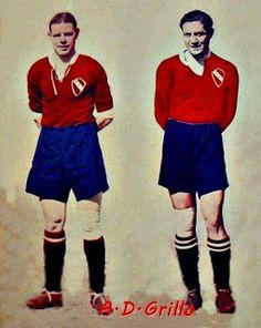 1938 Antonio Sastre y Arsenio Erico - Independiente de Avellaneda