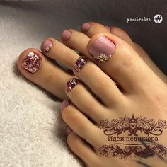 The advantage of the gel is that it allows you to enjoy your French manicure for a long time. There are four different ways to make a French manicure on gel nails. Pedicure Designs, Manicure E Pedicure, Toe Nail Designs, Feet Nail Design, Pretty Toe Nails, Cute Toe Nails, My Nails, Toe Nail Color, Toe Nail Art