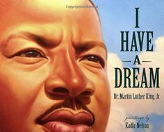 I Have a Dream ~ Beautifully written and illustrated. At the end of the book the entire speech is printed. The book also comes with a CD of the entire speech. It's remarkable to listen to the speech while reading the words and looking at the illustrations. #mlk