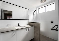 Modus Property 353 Sevenoaks St, Cannington WA 6107 1300-136-384 Bathroom Renovations Perth, Large Shower, Big Windows, Cabinet Makers, Double Vanity, Tub, Design, Bathtubs, Big Shower