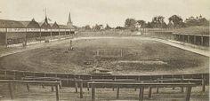 "Aston Lower Grounds where a great clash occurred in a real pointer"" British Football, Football Art, Football Stadiums, Birmingham Museum, Birmingham England, Aston Villa Fc, Bristol Rovers, Villa Park, Walsall"