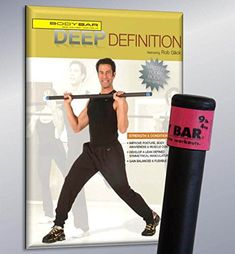 9 lbs. Body Bar with Deep Definition DVD *** Check this awesome image  : Pilates