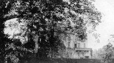Old photograph of Cessnock Castle, Galston, Ayrshire, Scotland