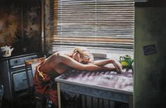 """Saatchi Art Artist Thomas Saliot; Painting, """"the green pot"""" #art  