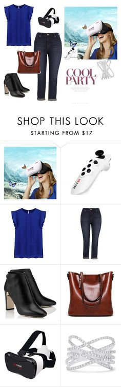 """""""Women's fashion"""" by room140701 ❤ liked on Polyvore featuring WithChic, Melissa McCarthy Seven7 and Effy Jewelry"""