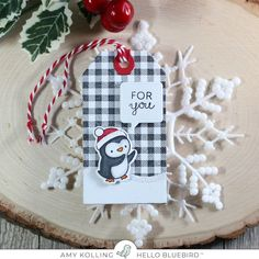 In My Creative Opinion: The 25 Days of Christmas Tags 2019 - Bonus Day 26 Cute Christmas Gifts, 25 Days Of Christmas, Stampin Up Christmas, Christmas Cards, Christmas Tables, Nordic Christmas, Modern Christmas, Christmas Wrapping, Winter Christmas