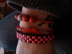 mias Cuff Bracelets, Leather, Jewelry, Fashion, Messages, Hipster Stuff, Jewellery Making, Moda, Jewelery