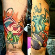 A start to a music sleeve performed by Mike Scarlett...