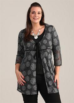 Plus Size Clothing - Jackets - ROUND ABOUT JACKET - TS14