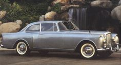 1959 Bentley S2 Continental Two-door Saloon with tail-fins by H.J. Mulliner