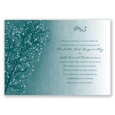 Sparkling Sky - Gem - Invitation | Invitations By David's Bridal