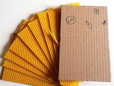 Sada na výrobu sviečok - včelí vosk / byZniev - SAShE.
