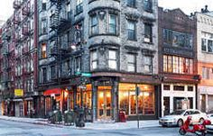 Corner of Orchard Street and Broome Street