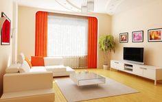 Te muestro los sencillos consejos que tienes que tener en cuenta para que elijas el color de las cortinas para decorar salas modernas y elegantes de forma sencilla.