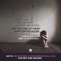 Have you had an abortion? There is help.