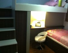 Loft bed for small spaces!
