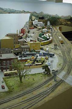 Bitter Creek Western Railroad (BCWRR): HO Layout(s)