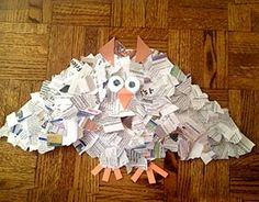 Recycled Owl Craft Project
