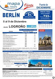 Puente de Diciembre Berlin salida Logroño 5 Diciembre **Precio Final desde 733** - http://zocotours.com/puente-de-diciembre-berlin-salida-logrono-5-diciembre-precio-final-desde-733-2/