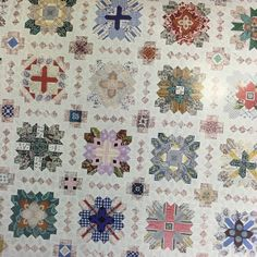 Lucy Boston Patchwork of the Crosses Starter Set, EPP English Paper Piecing and Acrylic Template Set with seams Quilt Sets, Quilt Blocks, Quilting Projects, Quilting Designs, Boston, Honeycomb Shape, Dear Jane Quilt, Crochet Quilt, Knit Crochet