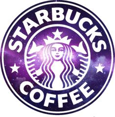 starbucks logo galaxy