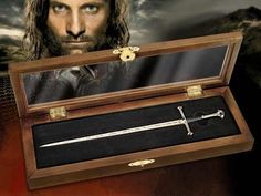Herr der Ringe Brieföffner Anduril - Aragorn