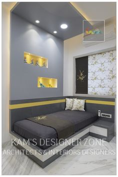 Kids room interior design: teen bedroom by kam's designer zo.- Kids room interior design: teen bedroom by kam's designer zone Here you will find photos of interior design ideas. Get inspired! Bedroom Furniture Design, Kids Interior Room, Bed Design, Modern Bedroom Design, Bed Furniture Design, Bedroom False Ceiling Design, Kids Room Interior Design, Interior Design, Interior Design Bedroom