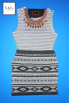 Collar - $25dlls  Blusa - $6dlls Falda - $10dlls  https://www.facebook.com/yandg.accessories #collar #blusa #falda #ygaccessories