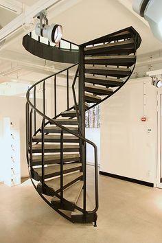 Projektering av spiraltrappa - Weland AB