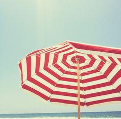 #Stripes #Umbrella #Summer