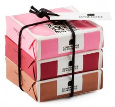 Love these pink soap sets at Leif #soap #gifts #stockingstuffers #pink #red