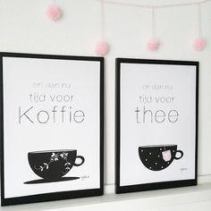 bijdeb: 2x Free printable en dan nu tijd voor koffie/thee....
