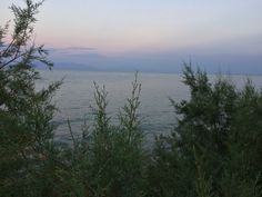 Messinian Gulf. Sunset view from Agios Andreas, Messinia.