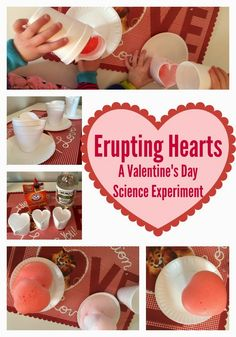 The Chirping Moms: Valentine's Day Science Experiment: Erupting Hearts