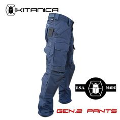 Gen.2 Pants Limited Navy