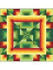 Quilt - Quattro Quilt Pattern - #429691(Annie)