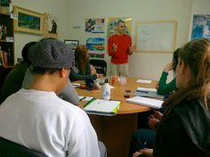 Teaching English as a foreign language workshop