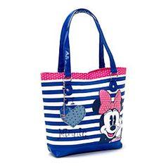 Minnie Mouse Nautical Tote Bag
